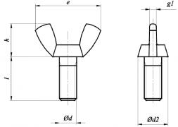 Śruby skrzydełkowe (wersja amerykańska), AN 265