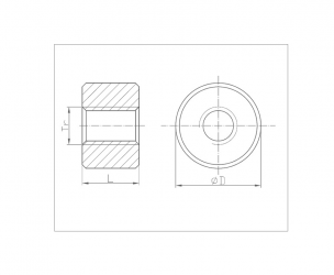 Nakrętki trapezowe okrągłe (DIN 103)