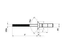 nity konstrukcyjne łeb stożkowy